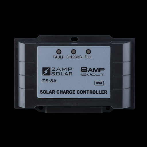 8 Amp 5-Stage Waterproof Controller - Plug and Play Solar