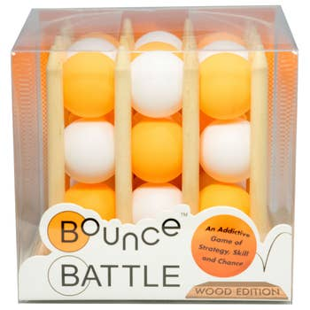 Bounce Battle Wood Edition Game Set