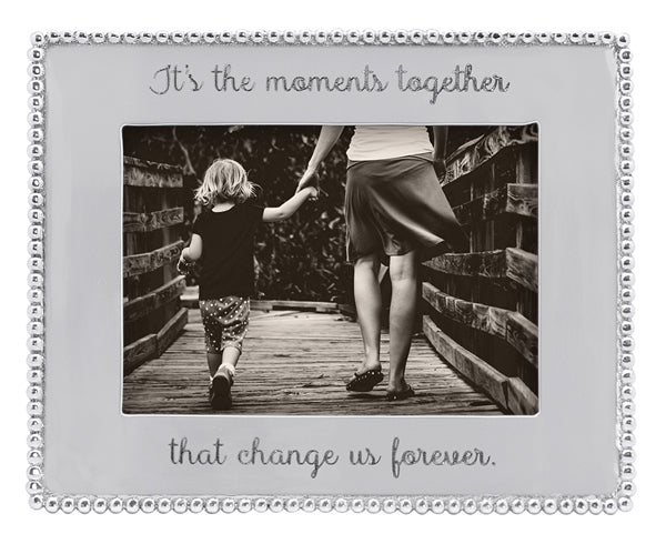 Mariposa It's The Moments Together Frame 5X7