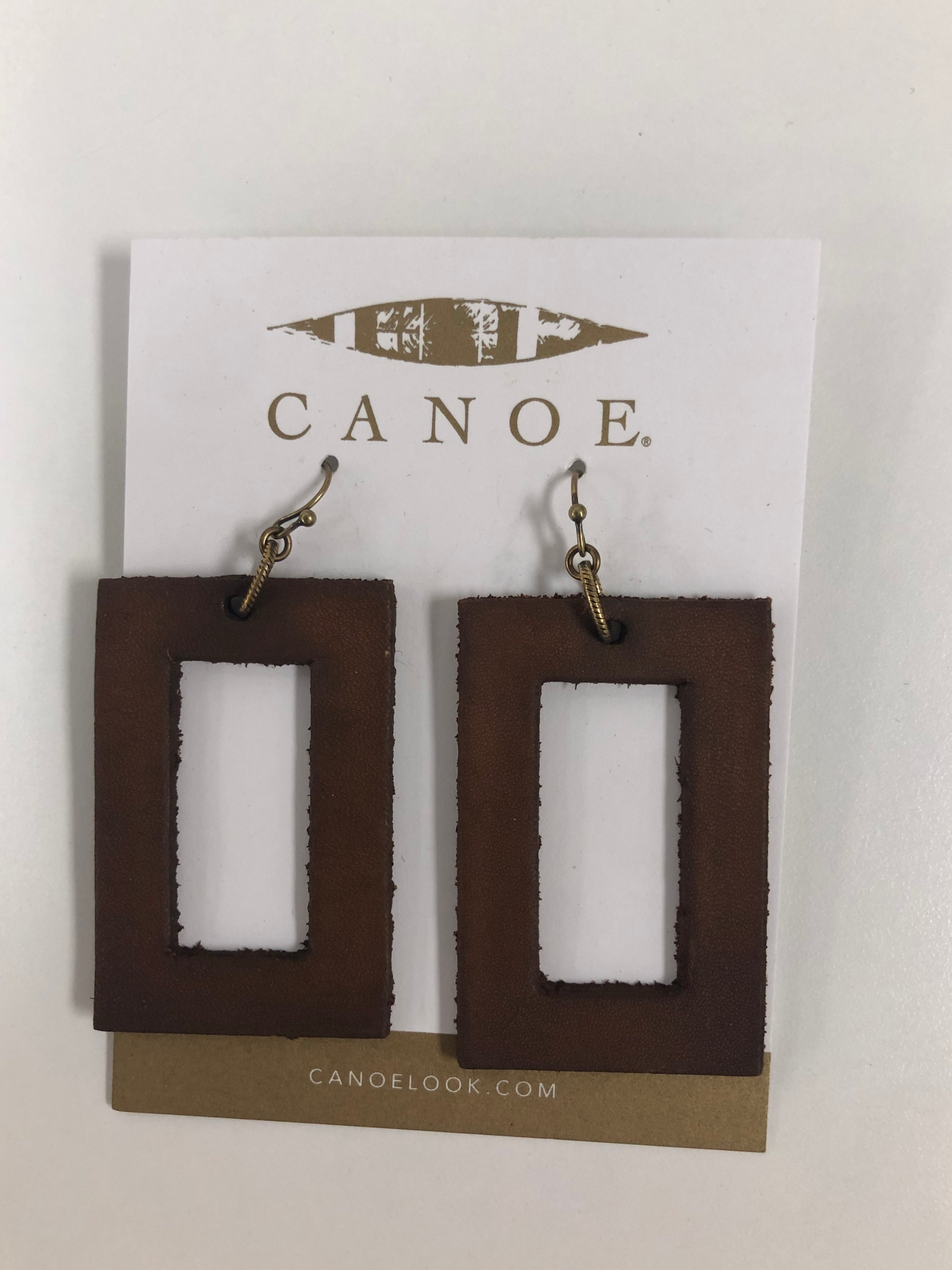 Large Rectangle Earring
