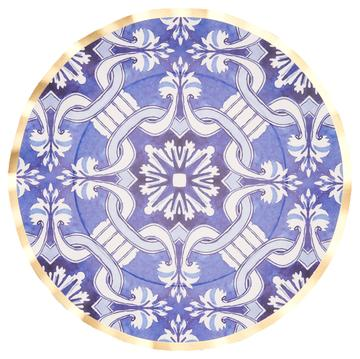 Moroccan Nights Paper Plate Collection