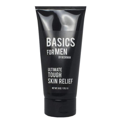 Basics For Men Ultimate Tough Skin Relief- 6oz