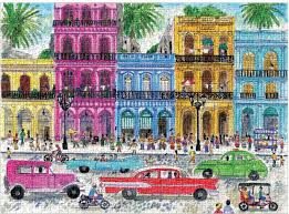 Cuba Puzzle by Michael Storrings