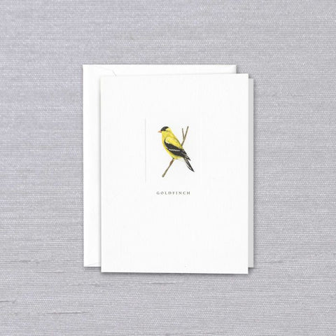 Crane and Co. Debossed Goldfinch Notes