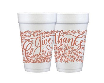 Natalie Chang 16 oz Give Thanks Cup