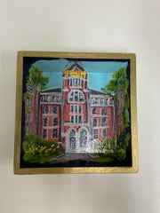 Collegiate Hand Painted Tray