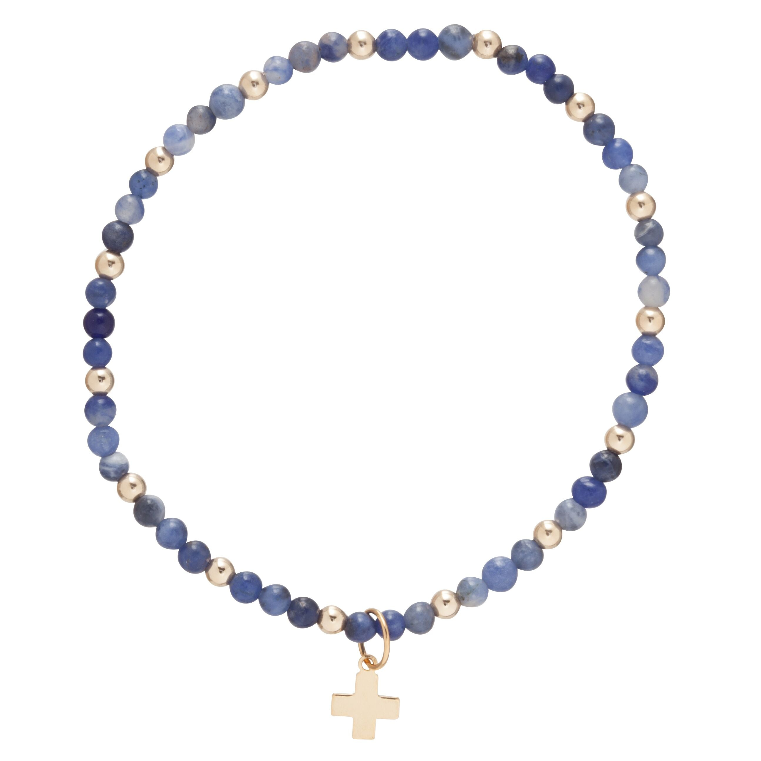 Enewton Sincerity Pattern 3 mm- Signature Cross Bracelet