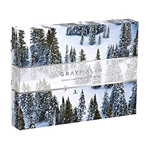 Gray Malin Double Sided 500 Piece Snow Puzzle