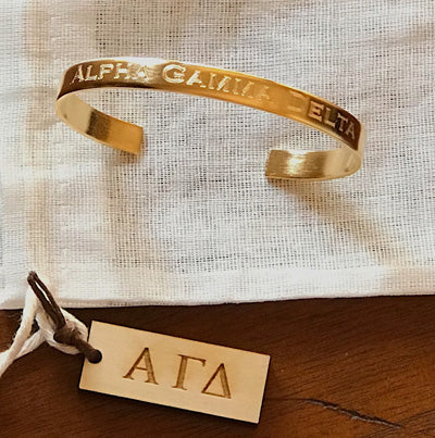 Sorority Cuffs