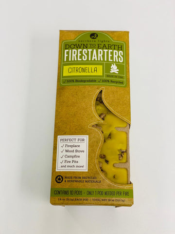 Down to Earth Firestarters