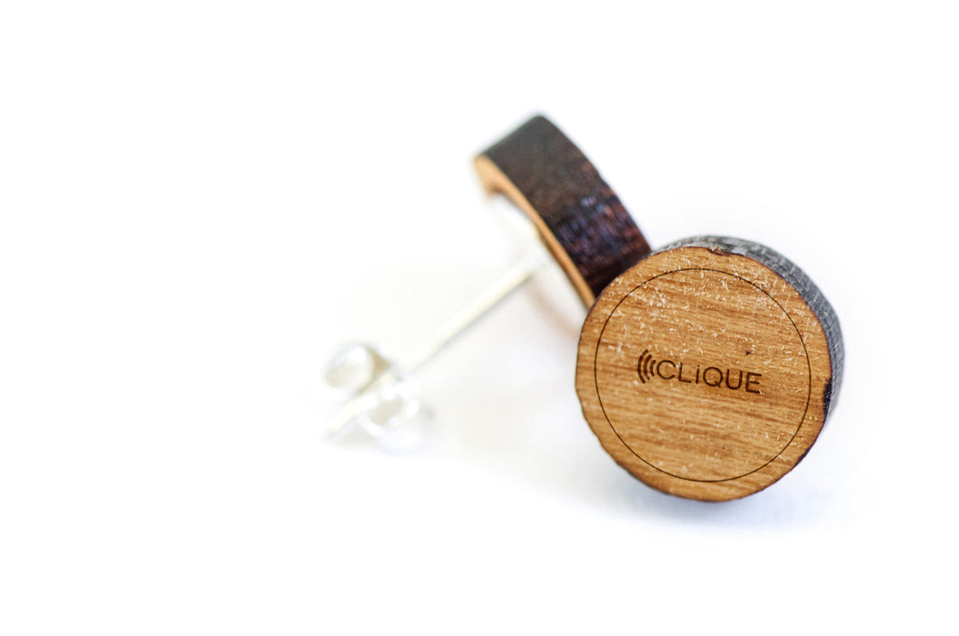 Wood Earrings