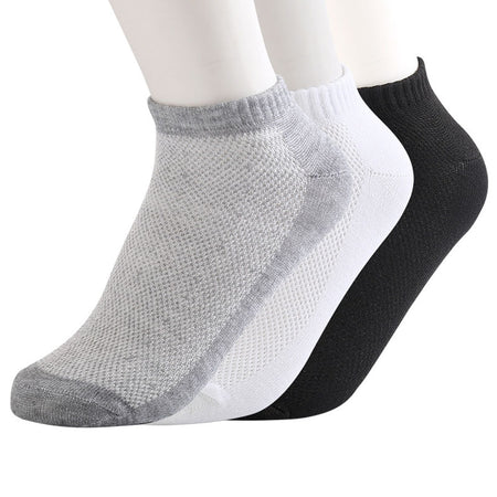 Men's Ankle Socks - 10 pairs - Hot Or Not