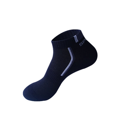Low Cut Athletic Socks - 5 Pair - Hot Or Not