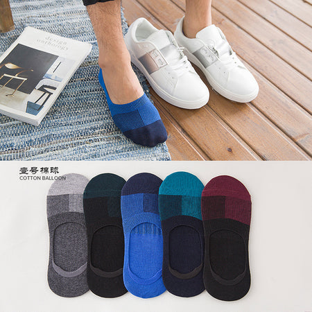 NO SHOW Cotton socks - 5 pairs - Hot Or Not