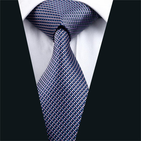 Mens Multi Color Silk Tie, Hanky and Cuff-link Sets - Hot Or Not