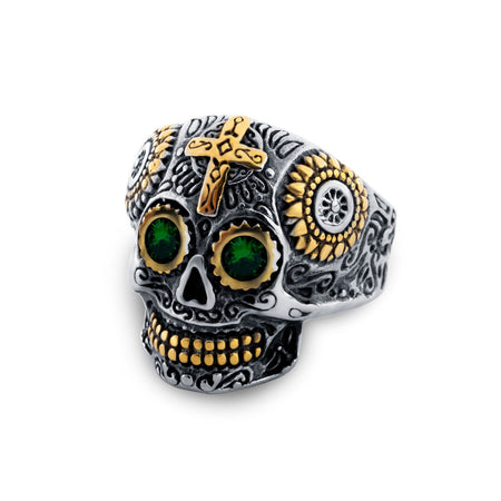Temple Of Doom Mens Ring