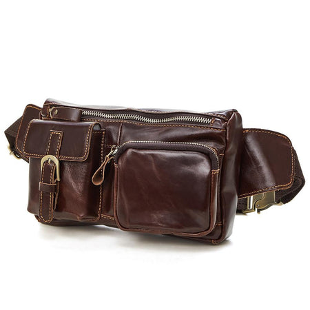 JOYIR Vintage Style Leather Waist Pack And Organizer - Hot Or Not