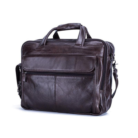 "LOVMAXI Genuine Leather Briefcases - Fits 15"" Laptop - Hot Or Not"