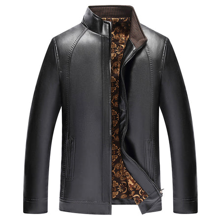 DOMINATOR - Mens Faux Leather Dress Jacket. - Hot Or Not