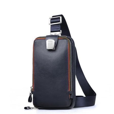 PADIEOE Leather Crossbody Travel Bag - Hot Or Not