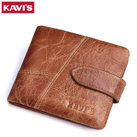 Vintage Style Genuine Leather Wallet - Hot Or Not