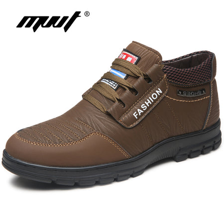 Leather Casual Shoes Men - Hot Or Not