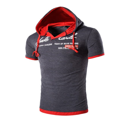 Men Polo Hooded T Shirt - Hot Or Not