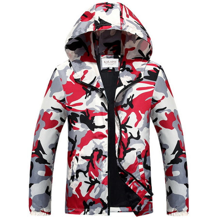 Camouflage Windcheater Jacket - Hot Or Not