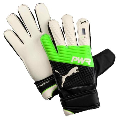 GOALKEEPER GLOVES PUMA EVOPOWER PROTECT 3.3 - GREEN GECKO/BLACK