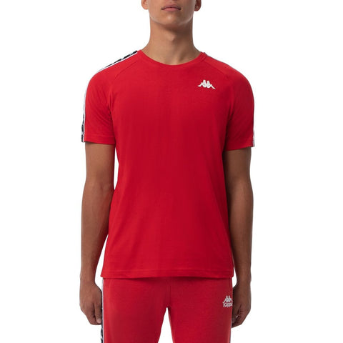 BANDA COEN SLIM ATHLETIC RED T-SHIRT