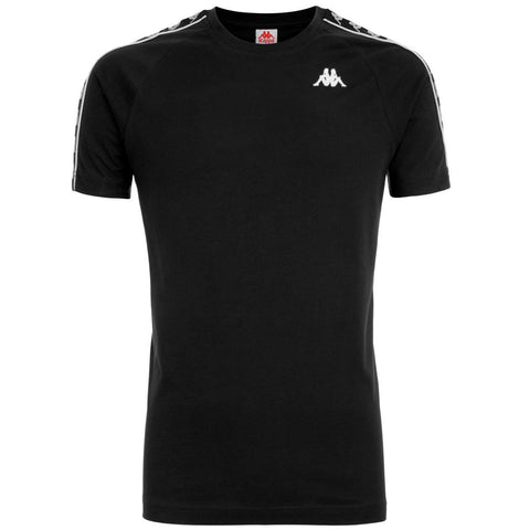 BANDA COEN SLIM ATHLETIC BLACK T-SHIRT