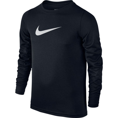 BOYS' NIKE DRY TRAINING T-SHIRT - BLACK