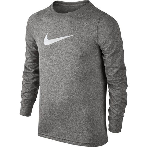 BOYS' NIKE DRY TRAINING T-SHIRT - GREY