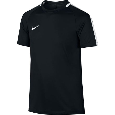 KID'S NIKE DRY ACADEMY FOOTBALL TOP - BLACK
