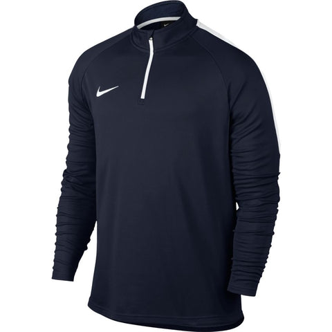 MEN'S NIKE DRY ACADEMY FOOTBALL DRILL TOP - OBSIDIAN