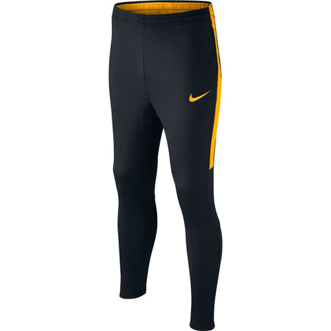 KID'S NIKE DRY ACADEMY FOOTBALL PANT - BLACK/LASER ORANGE