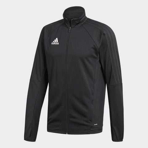 MEN'S TIRO 17 TRAINING JACKET - BLACK