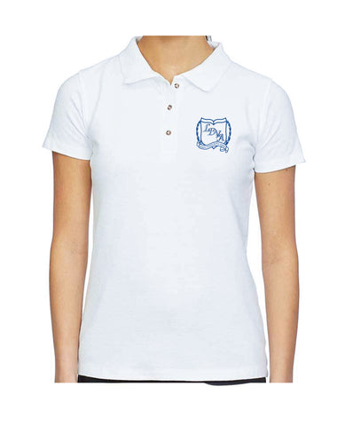 LDVA Girls Polo Stretch Short Sleeve