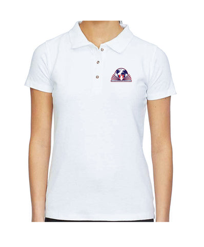 Michelangelo Intl. Girls Polo Stretch Short Sleeve