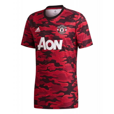 ADIDAS MANCHESTER UNITED PRE-MATCH JERSEY 2020/21