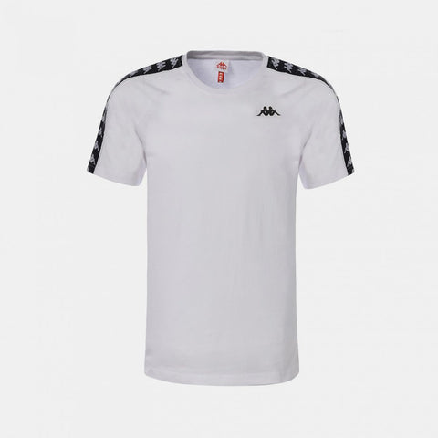 BANDA COEN SLIM ATHLETIC WHITE T-SHIRT