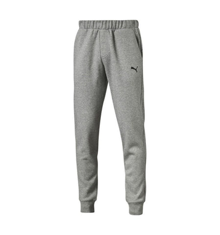 PUMA ESSENTIAL MEN'S FLEECE PANTS HEATHER GREY