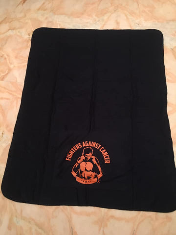 Fleece blanket - blue