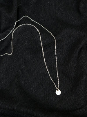 Silver Reflection Necklace