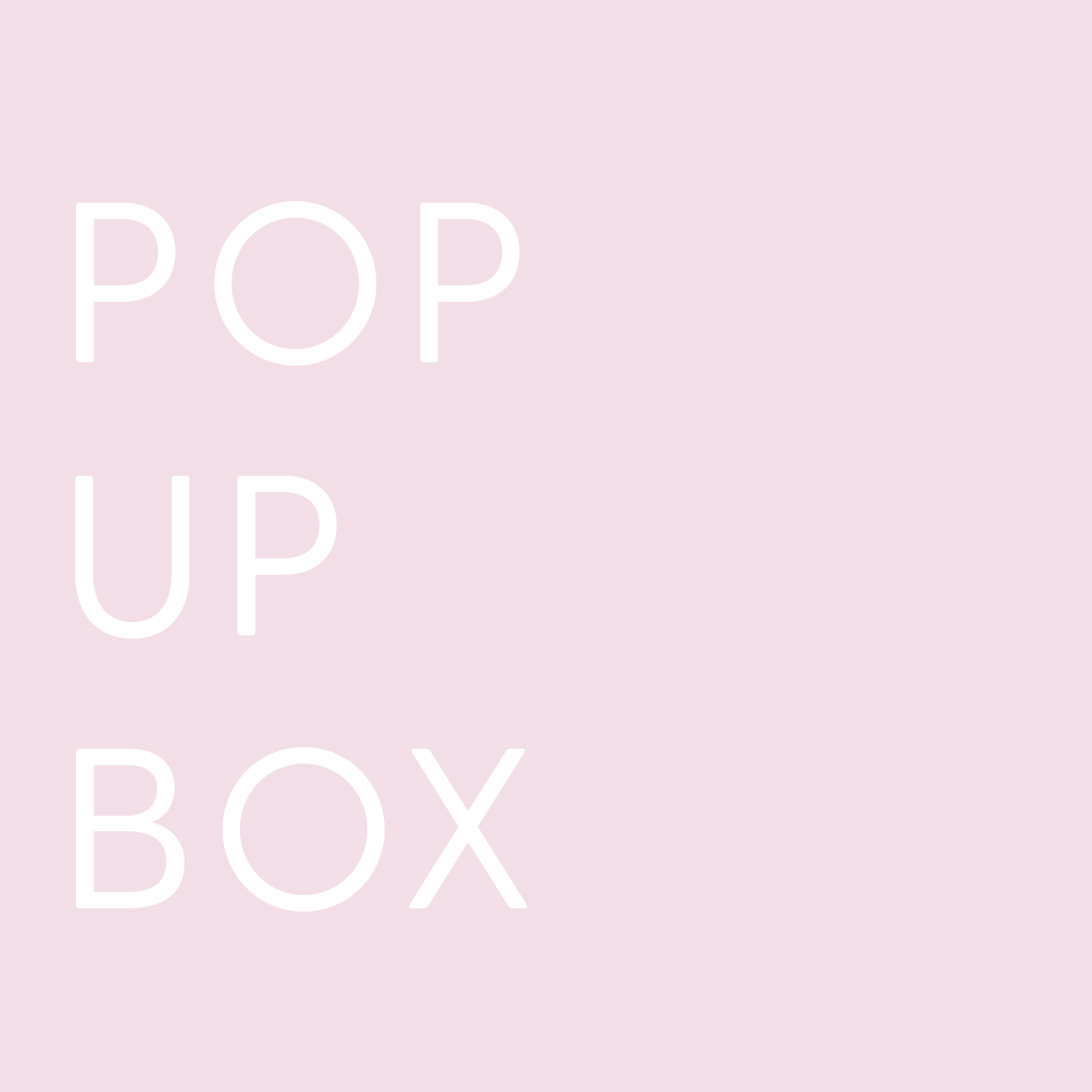 Pop Up Box