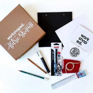 Workshop Box: Lettering by Aldric Bonani