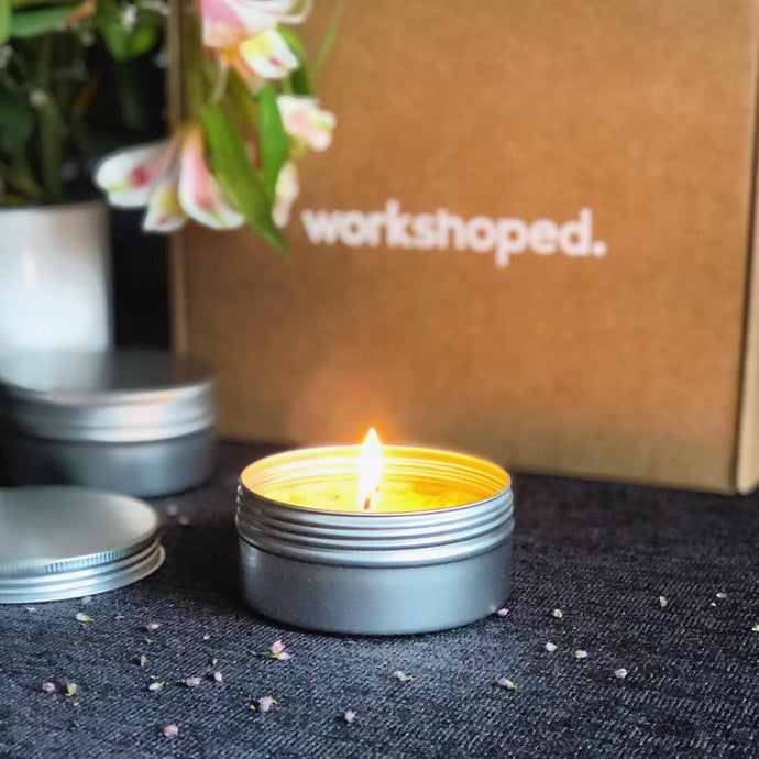 Workshop Box: Velas Aromáticas