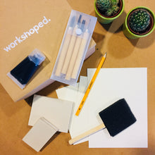 Workshop Box: Fazer Carimbos - Workshoped