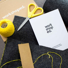 Workshop Box: Bolsas em Feltro - Workshoped