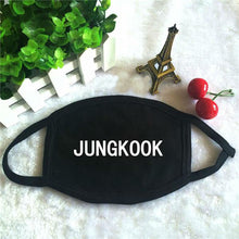 [FREE!!] Kpop BTS Member Name Cotton Mask [Cover Shipping Only]. - Neko Suki,